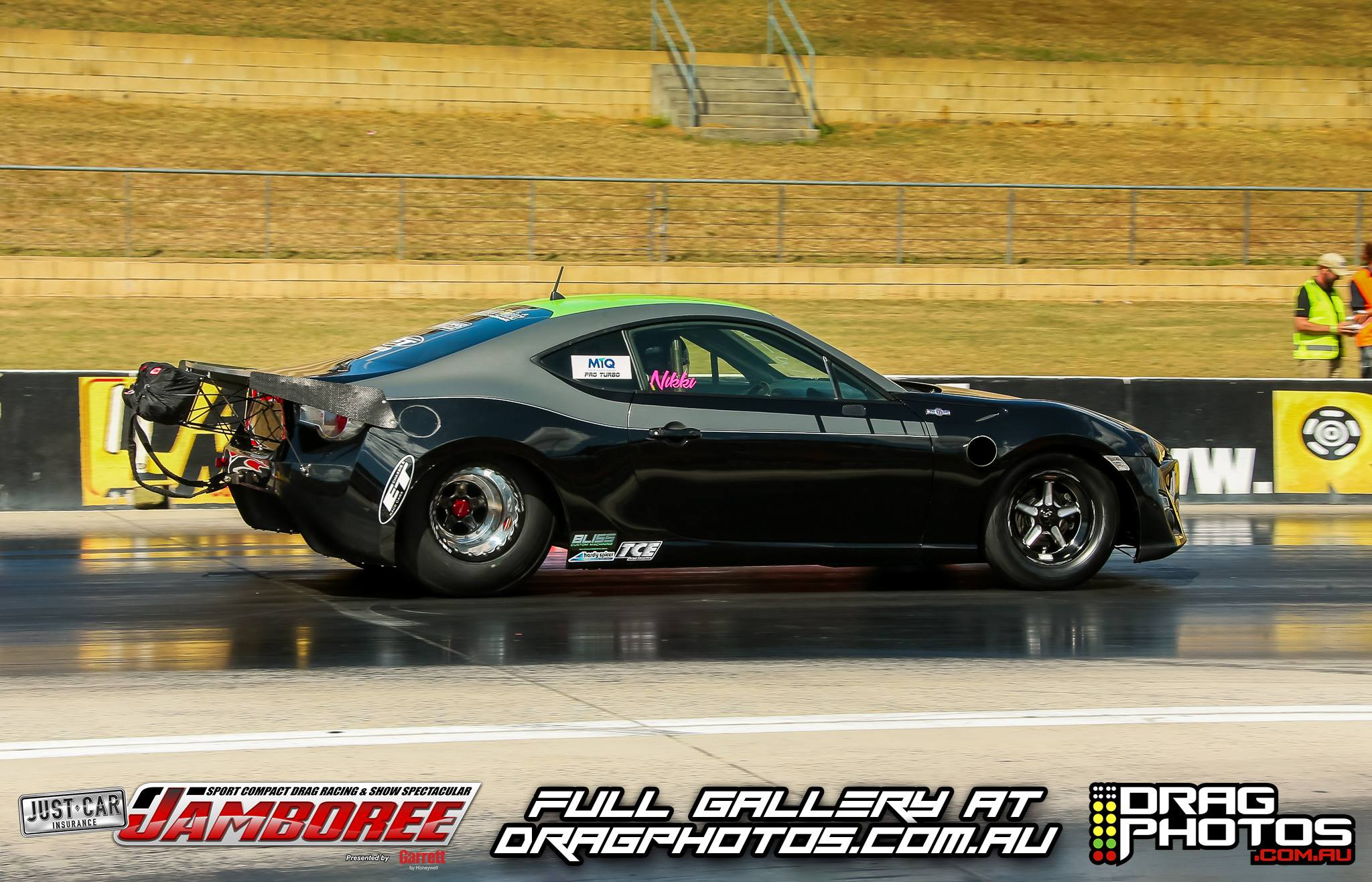 Car: Toyota GT86 Engine: 1FZ Tire: 315. Driver: Nikki Hepburn 1/4 Best ET:  6.725 @ 203.71 MPH Track U0026 Date: Sydney Dragway U2013 March 16, 2018. Record:  World ...